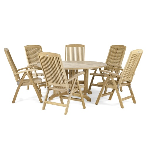 5ft Round Folding Dining Sets