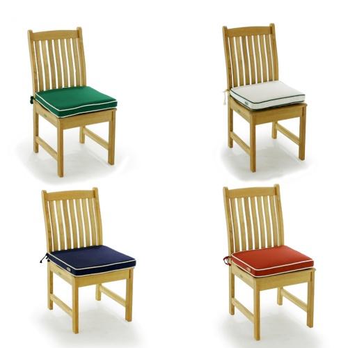 sunbrella dining chair cushions