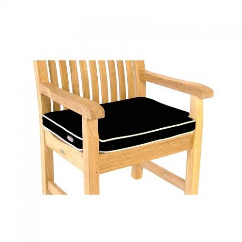 teak armchair cushions