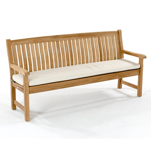 teak 5 ft bench cushions