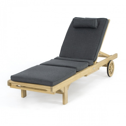 teak lounger cushions