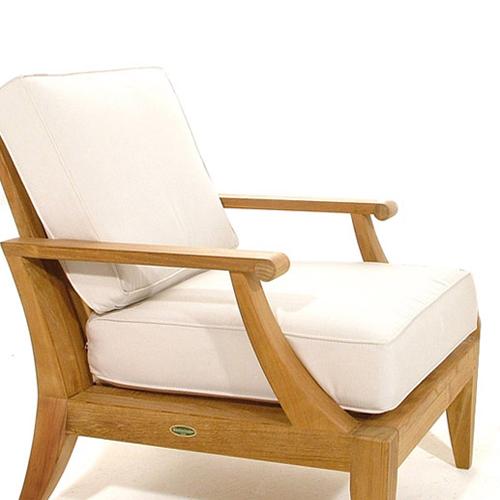teak lounge chair cushions