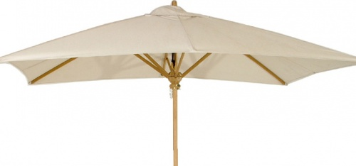 rectangular teak umbrella fabrics black