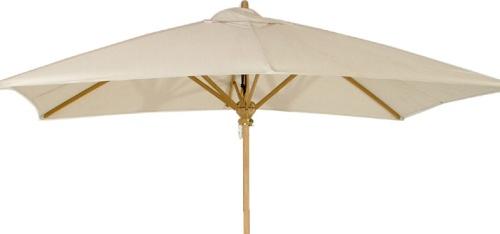 rectangular teak umbrella fabrics oyster