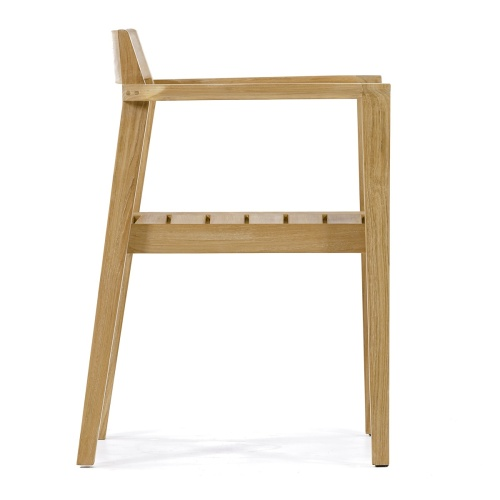 Low Back Solid Teak Chairs