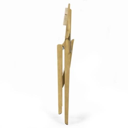 teak wood outdoor folding chair