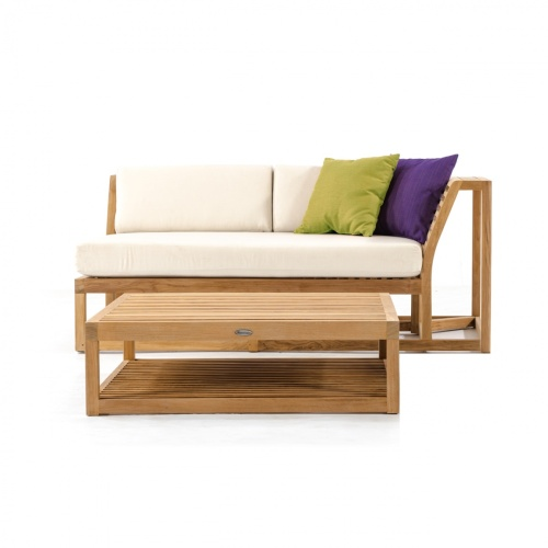 teak outdoor sectional