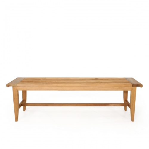 5ft teak spa benches