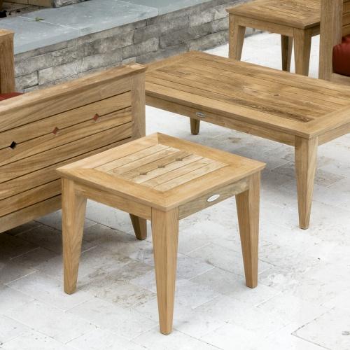 Craftsman Teak End Table