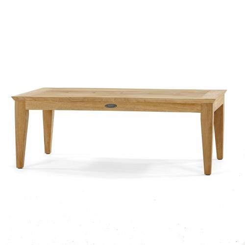 rectangular teak coffee tables