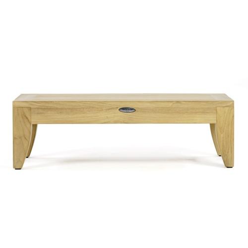 Rectangular Wooden End Table