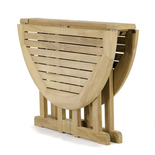 Teak Foldng Table Patio Furniture