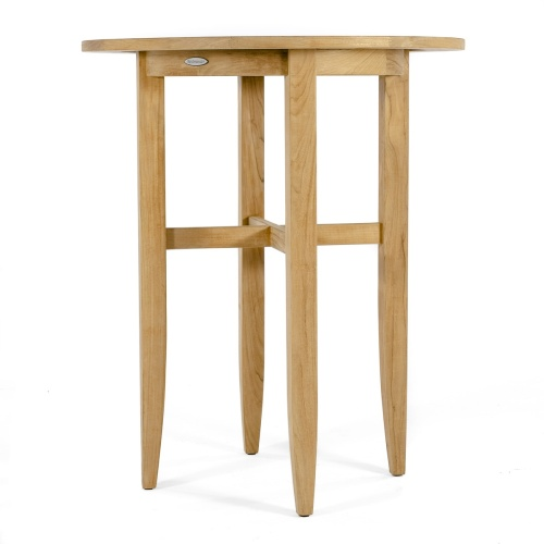 36 inch Laguna Round Teak Bar Table | Westminster Teak