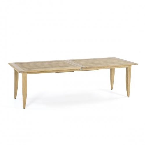 teak dining table rectangular