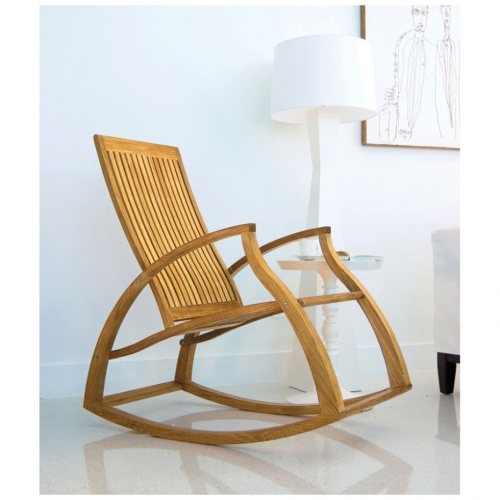 Wooden Indoor Rocking Chairs