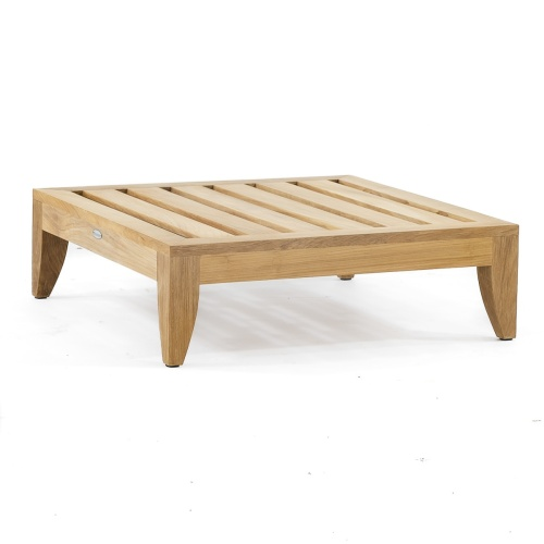 Wooden Ottoman Outdoor