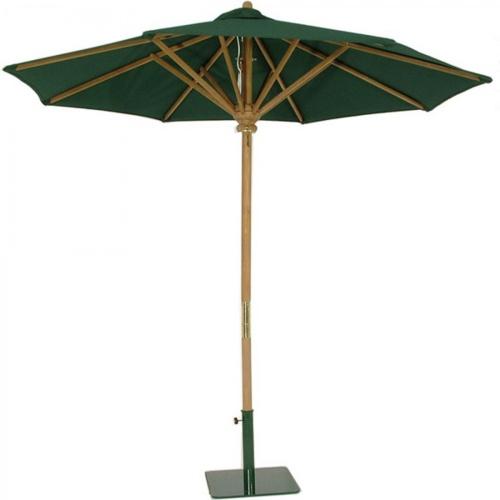 outdoor teak umbrellas