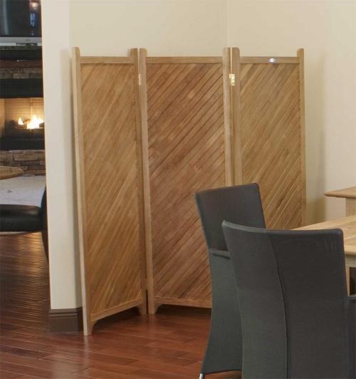 teak room divider