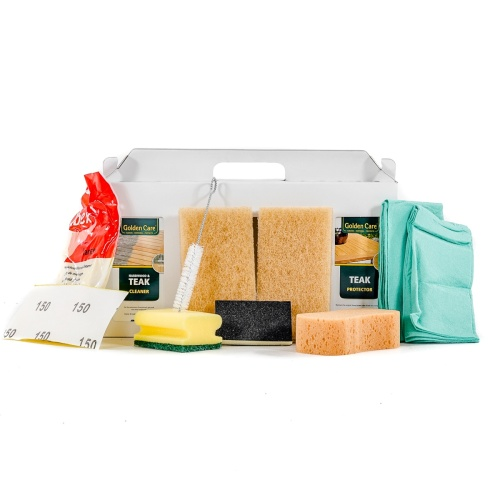 Teak Care 3-in-1 Care Kit