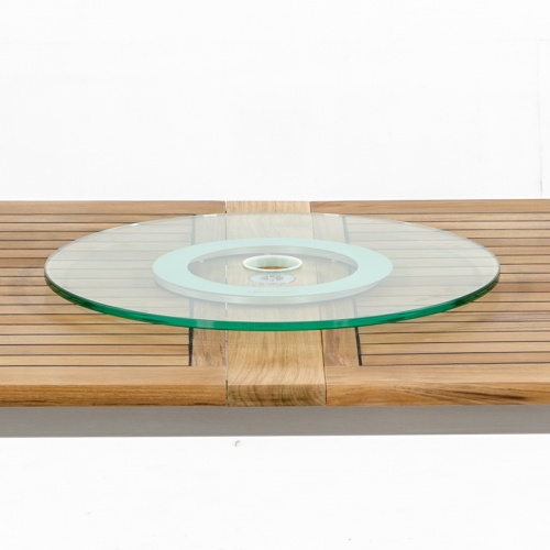 dining table top lazy susan glass