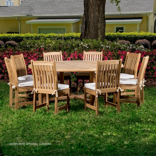 9pc table and chair set