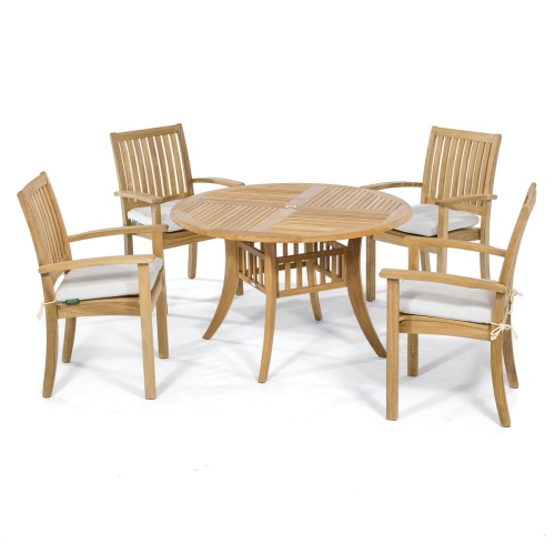 48 Inch Round Dining Set