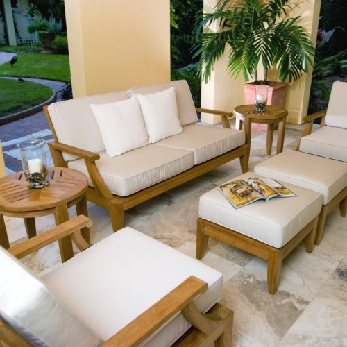 teak lounge set