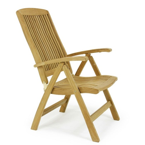 teak outdoor furniture recliner
