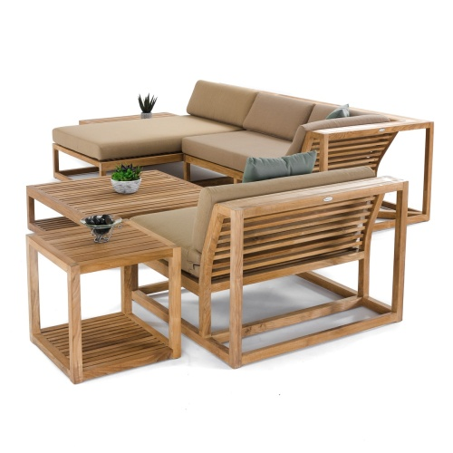 modular wrap around lounge set