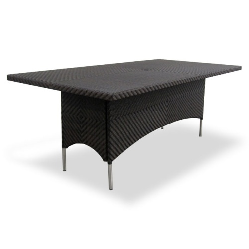 outdoor wicker patio furniture table