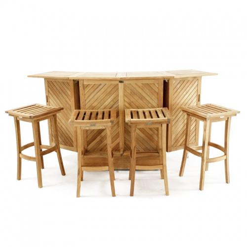 outdoor furniture bar set