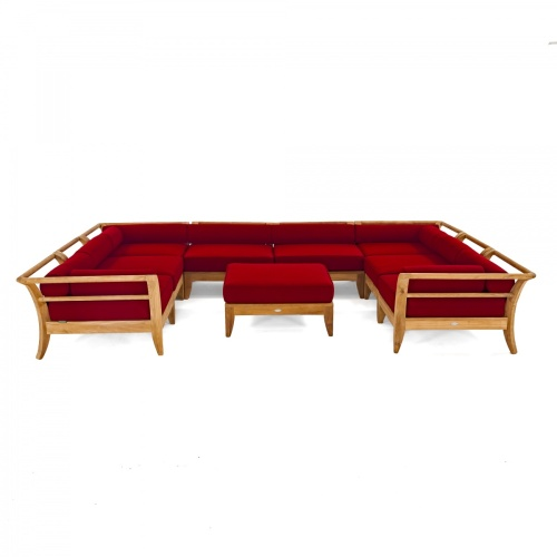 teak lounge sectional furniture