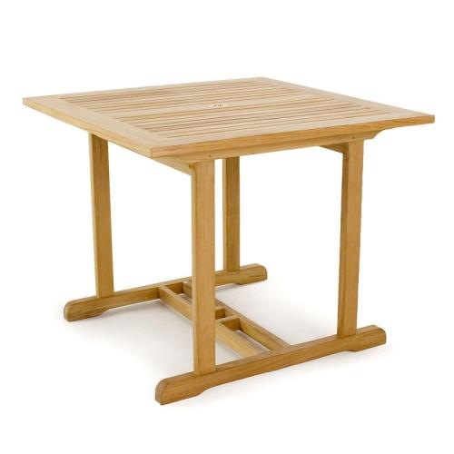 bistro teak table