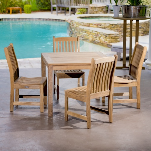 Yacht Bistro Set for 4