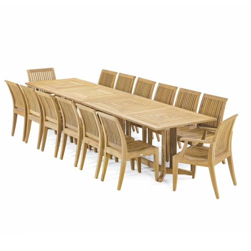 15pc outdoor dining set