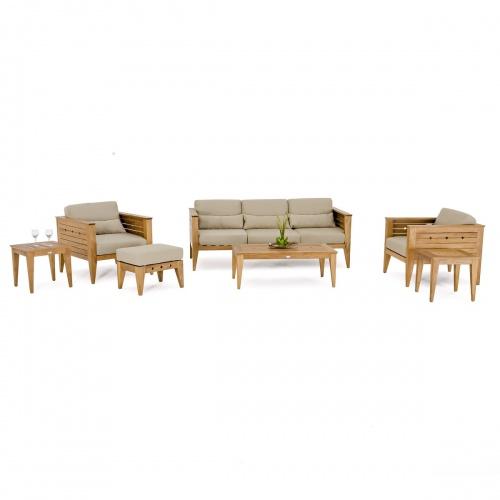 teak outdoor lounge set
