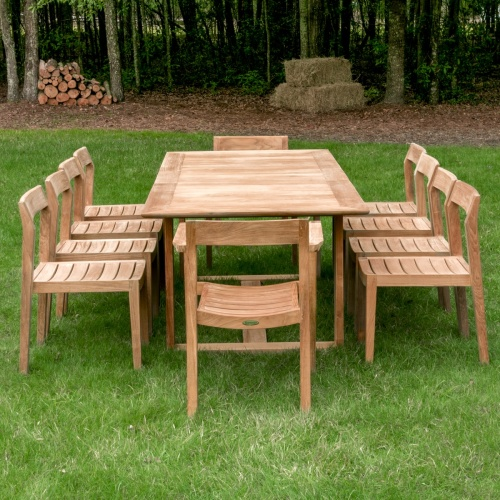 danish teak outdoor patio set