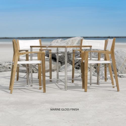 Odyssey Folding Teak Dining Set