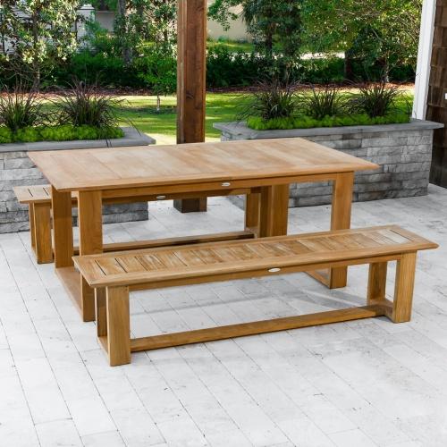 commercial grade teak picnic sets