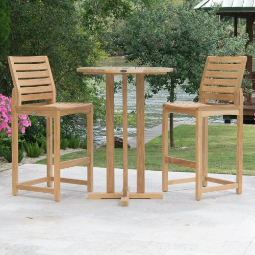 Somerset 3 pc Bistro Bar Set