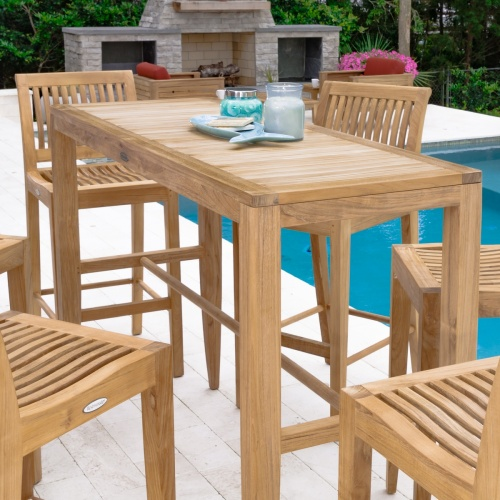 Laguna 5pc Rectangular Bar Set