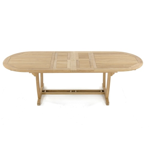 103 Inch Oval Teak Table