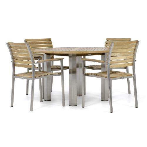 teakwood wood table