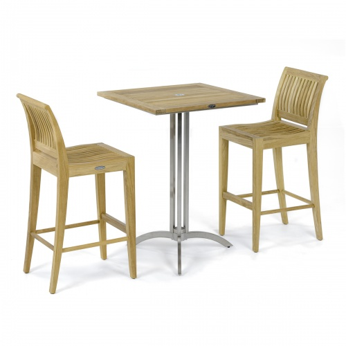 Vogue Square Barstool Set