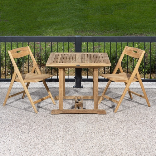 teak quality dinette table and chairs