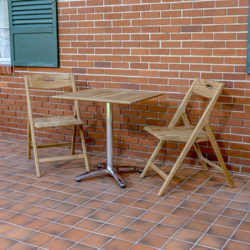 Surf Bistro Rectangular Teakwood Set