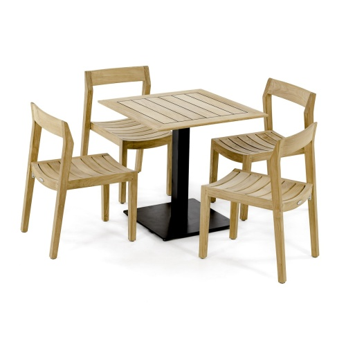 wooden 5pc Side Chair Set