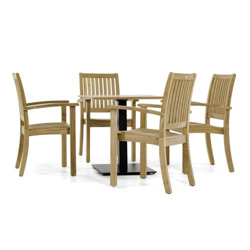 teakwood cafe furniture sets