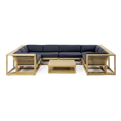 Modern Deep Seating 7 Pc Lounge Set