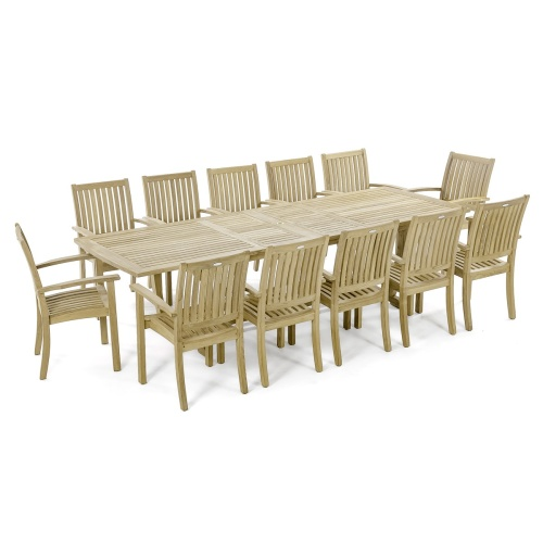 patio sets made out of teak
